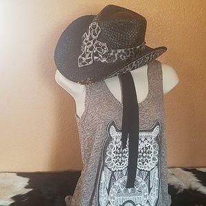 Olive & Pique-Straw Hat